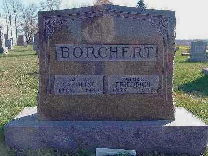 BORCHERT, FRIEDRICH - Marion County, Iowa | FRIEDRICH BORCHERT
