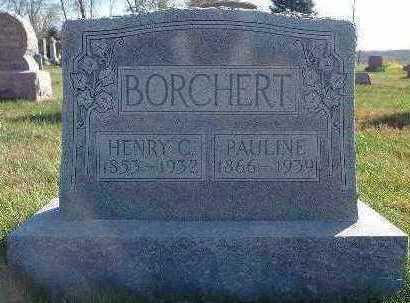 BORCHERT, HENRY C. - Marion County, Iowa | HENRY C. BORCHERT