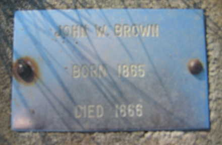 BROWN, JOHN - Marion County, Iowa | JOHN BROWN