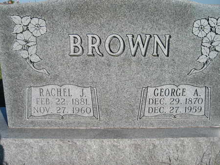 BROWN, GEORGE - Marion County, Iowa | GEORGE BROWN