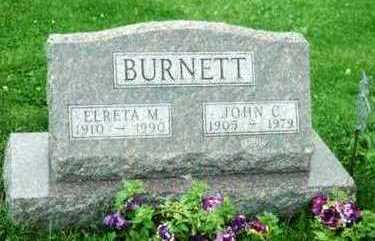 BURNETT, JOHN C. - Marion County, Iowa | JOHN C. BURNETT