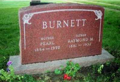 BURNETT, RAYMOND MARSH - Marion County, Iowa | RAYMOND MARSH BURNETT