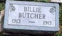 BUTCHER, BILLIE - Marion County, Iowa | BILLIE BUTCHER