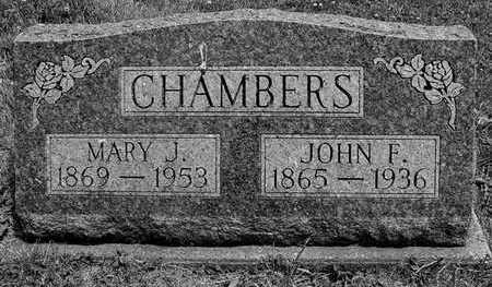 CHAMBERS, JOHN F. AND MARY J. - Marion County, Iowa | JOHN F. AND MARY J. CHAMBERS