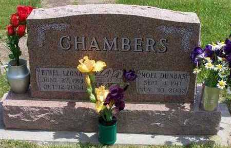CHAMBERS, NOEL D. AND ETHEL L. - Marion County, Iowa | NOEL D. AND ETHEL L. CHAMBERS