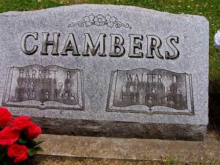 CHAMBERS, WALTER DELNO AND HARRIET B. - Marion County, Iowa | WALTER DELNO AND HARRIET B. CHAMBERS