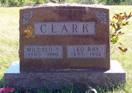 CLARK, MILDRED - Marion County, Iowa | MILDRED CLARK