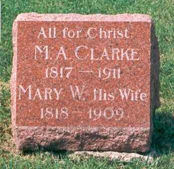 CLARKE, MARY - Marion County, Iowa | MARY CLARKE