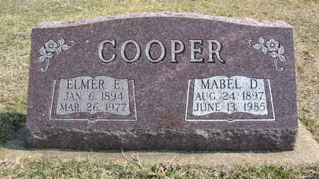 COOPER, MABEL DELL - Marion County, Iowa | MABEL DELL COOPER