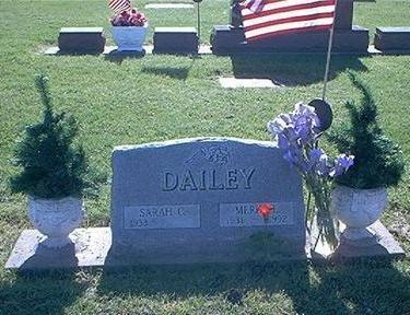 DAILEY, MERLE - Marion County, Iowa | MERLE DAILEY