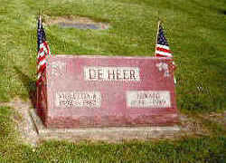 DEHEER, EDWARD - Marion County, Iowa | EDWARD DEHEER