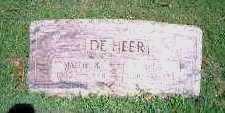 DEHEER, MYER - Marion County, Iowa | MYER DEHEER