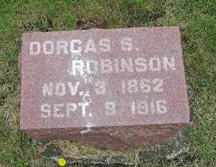 ROBINSON, DORCAS S. - Marion County, Iowa | DORCAS S. ROBINSON