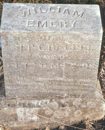 EMERY, WILLIAM - Marion County, Iowa   WILLIAM EMERY