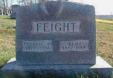 FEIGHT, FREDRIC H. - Marion County, Iowa | FREDRIC H. FEIGHT