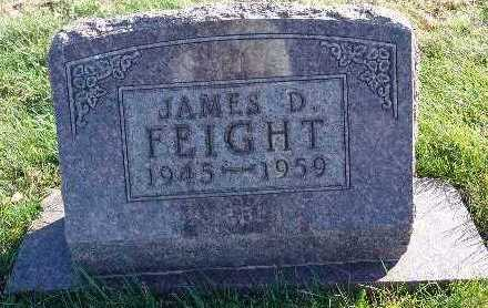 FEIGHT, JAMES D. - Marion County, Iowa | JAMES D. FEIGHT