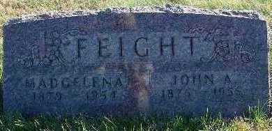FEIGHT, MADGELENA - Marion County, Iowa | MADGELENA FEIGHT