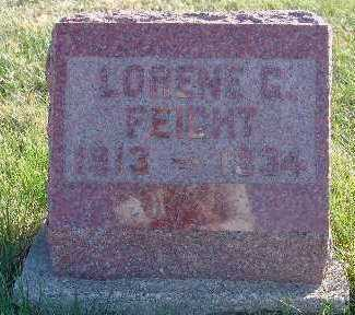 FEIGHT, LORENE G. - Marion County, Iowa | LORENE G. FEIGHT