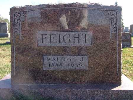 FEIGHT, WALTER J. - Marion County, Iowa | WALTER J. FEIGHT
