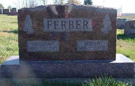 FERBER, MINNIE - Marion County, Iowa | MINNIE FERBER