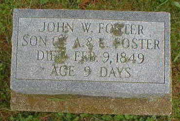 FOSTER, ANDREW W. - Marion County, Iowa | ANDREW W. FOSTER