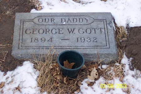 GOTT, GEORGE - Marion County, Iowa | GEORGE GOTT