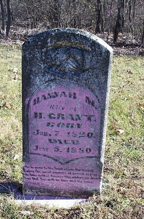TOWNE GRANT, HANNAH M - Marion County, Iowa | HANNAH M TOWNE GRANT