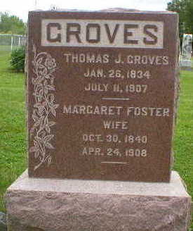 FOSTER GROVES, MARGARET - Marion County, Iowa | MARGARET FOSTER GROVES