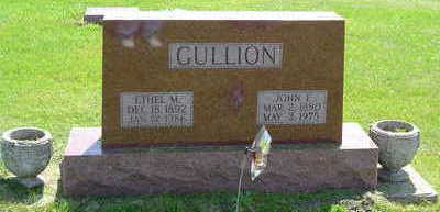LUNDY GULLION, ETHEL M. - Marion County, Iowa | ETHEL M. LUNDY GULLION