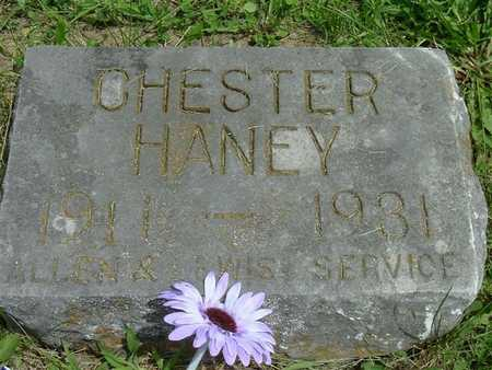 HANEY, CHESTER - Marion County, Iowa | CHESTER HANEY