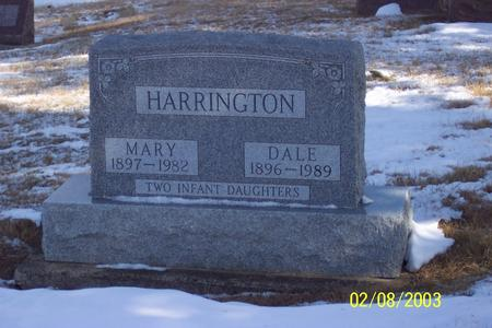 HARRINGTON, MARY - Marion County, Iowa | MARY HARRINGTON