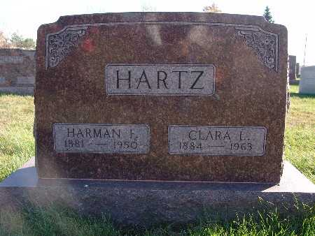 HARTZ, HARMAN F. - Marion County, Iowa | HARMAN F. HARTZ