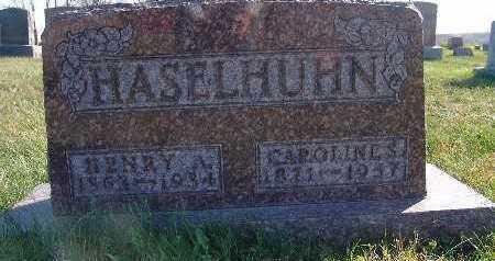 HASELHUHN, CAROLINE S. - Marion County, Iowa | CAROLINE S. HASELHUHN