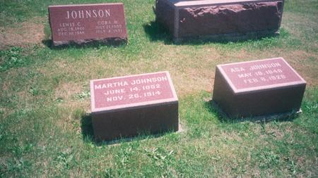 JOHNSON, ASA - Marion County, Iowa | ASA JOHNSON