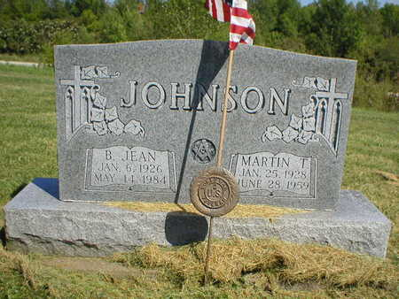 JOHNSON, MARTIN T. - Marion County, Iowa | MARTIN T. JOHNSON