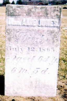 MAPLE JONES, ANNA - Marion County, Iowa | ANNA MAPLE JONES