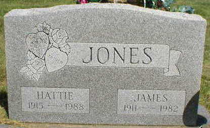 JONES, HATTIE - Marion County, Iowa | HATTIE JONES