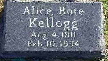 KELLOGG, ALICE - Marion County, Iowa | ALICE KELLOGG