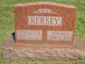KERSEY, DONALD - Marion County, Iowa | DONALD KERSEY