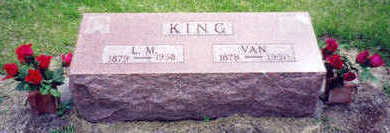 KING, LILLIE MAY - Marion County, Iowa | LILLIE MAY KING