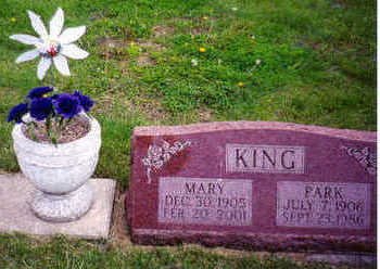 KING, MARY - Marion County, Iowa | MARY KING