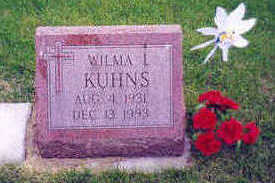KING KUHNS, WILMA - Marion County, Iowa | WILMA KING KUHNS