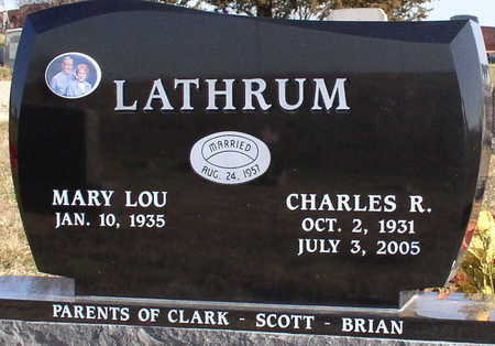 LATHRUM, CHARLES - Marion County, Iowa | CHARLES LATHRUM