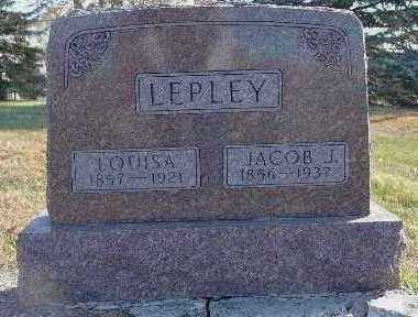 LEPLEY, JACOB J. - Marion County, Iowa | JACOB J. LEPLEY