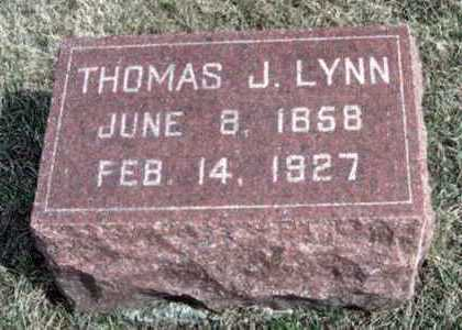 LYNN, THOMAS JEFFERSON - Marion County, Iowa | THOMAS JEFFERSON LYNN