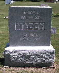MADDY, JACOB A - Marion County, Iowa | JACOB A MADDY