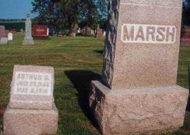 MARSH, ARTHUR B. - Marion County, Iowa | ARTHUR B. MARSH