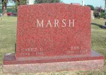 MARSH, CARRIE G. - Marion County, Iowa | CARRIE G. MARSH