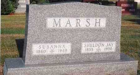 MARSH, SUSANNA B. - Marion County, Iowa | SUSANNA B. MARSH