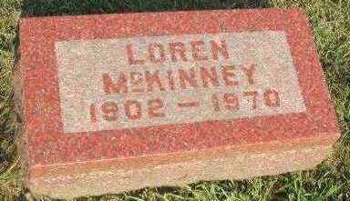 MCKINNEY, LOREN - Marion County, Iowa | LOREN MCKINNEY